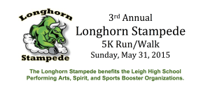 3rd Annual Longhorn Stampede 5K Run/Walk @ Leigh High School | San Jose | California | United States