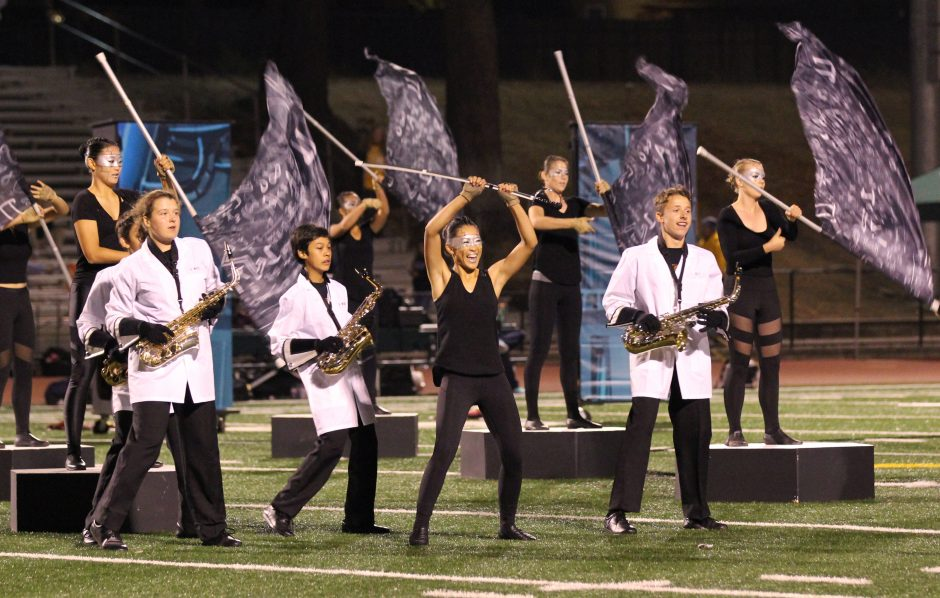Marching Band   Leigh High School Performing Arts
